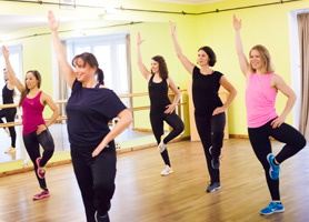 Dance-Workout im Studio N°1