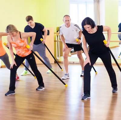 Intervalltraining im Studio N°1